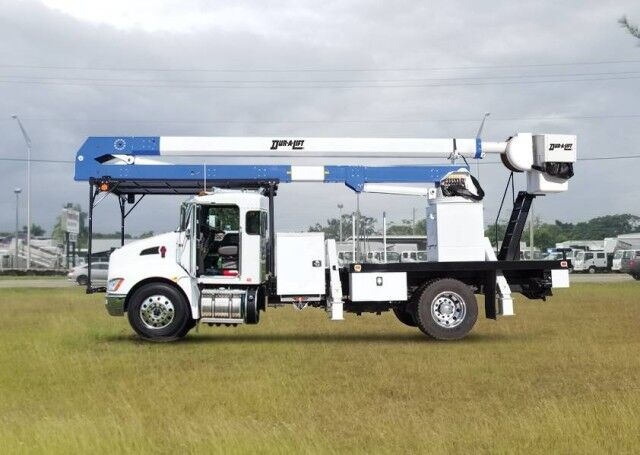2020 Kenworth T370 Dur-A-Lift DTA3-60 Forestry Bucket Truck Homestead FL