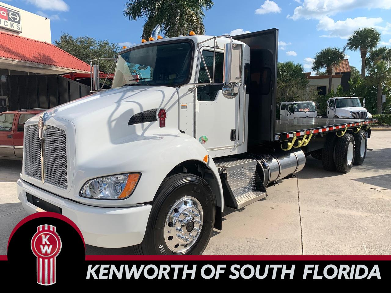 2020 Kenworth T370 FLATBED