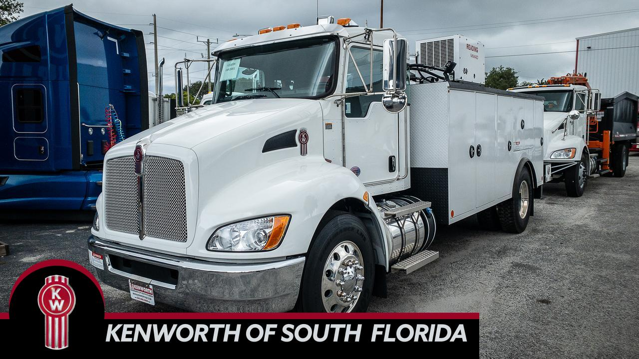 2020 Kenworth T370 Mechanic Truck Fort Lauderdale FL