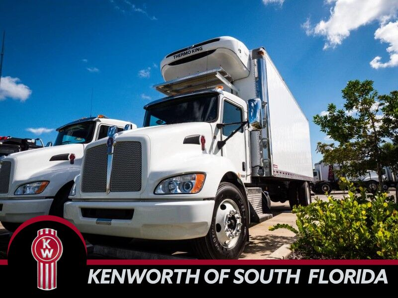 2020 Kenworth T370 Refrigerated