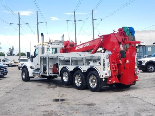 2020 Kenworth W990 Jerr-Dan 50 Ton Integrated Wrecker Miami FL