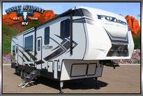 Keystone Fuzion Impact 367 Triple Slide 5th Wheel Toy Hauler RV 2020