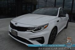 2020_Kia_Optima_LX / Automatic / Power & Heated Leather Seats / Heated Steering Wheel / Panoramic Sunroof / Lane Departure & Blind Spot Alert / Bluetooth / Back Up Camera / 32 MPG / 1-Owner_ Anchorage AK