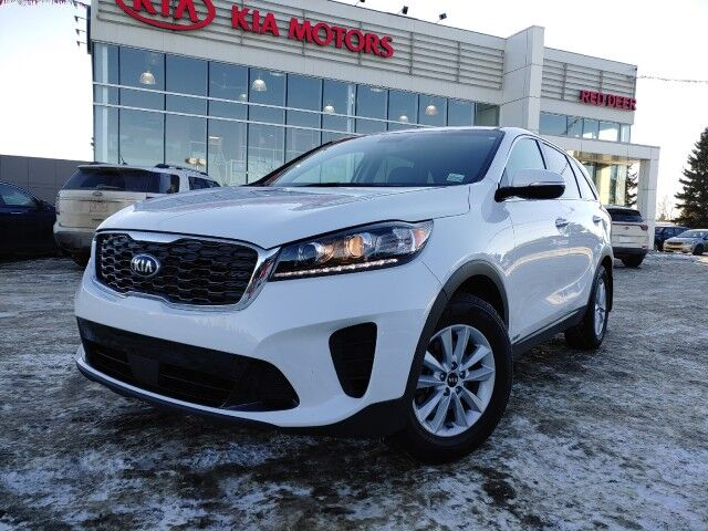 2020 Kia Sorento LX+ AWD, Certified Pre-Owned, Wireless Cellphone Charger, Heated Red Deer AB