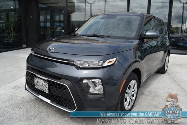 2020 Kia Soul LX / Automatic / Auto Start / Bluetooth / Back Up Camera / Air Conditioning / Cruise Control / 35 MPG / 1-Owner Anchorage AK