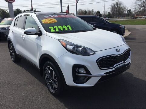 2020_Kia_Sportage_EX AWD_ Evansville IN