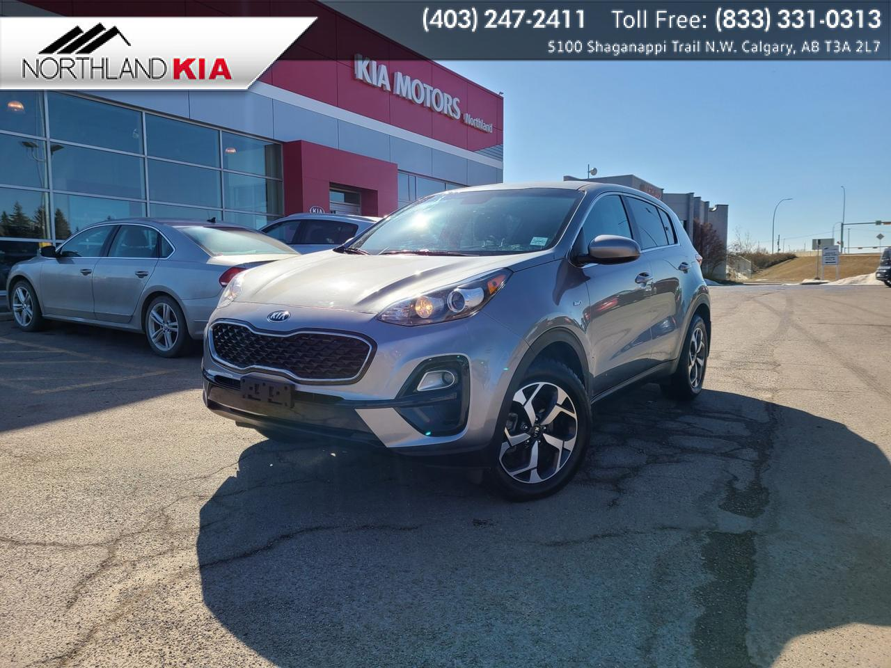 2020 Kia Sportage LX AWD, HEATED SEATS, BACKUP CAMERA, APPLE CARPLAY, ANDRIOD AUTO Calgary AB