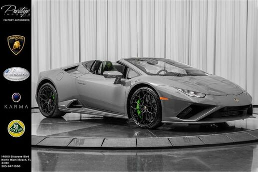 2020 Lamborghini Huracan EVO  North Miami Beach FL