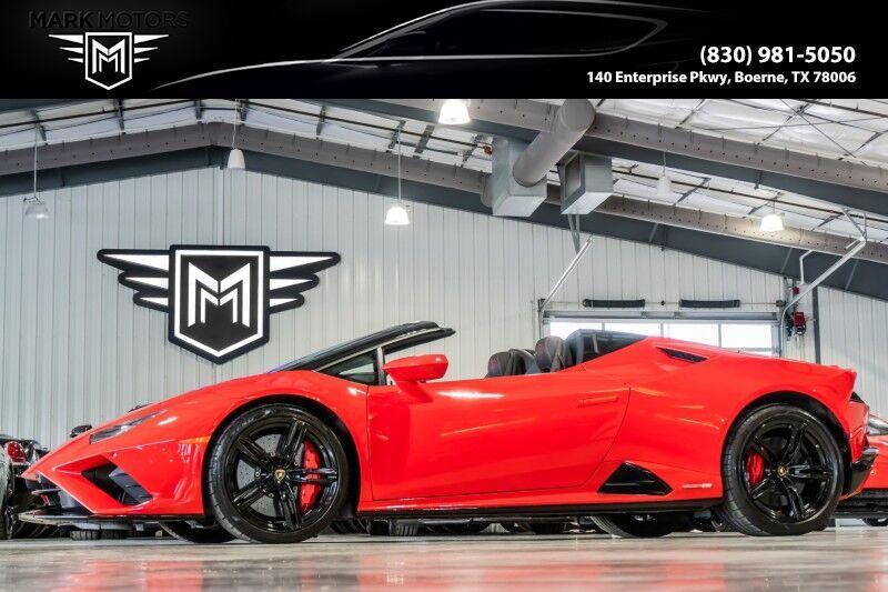 2020_Lamborghini_Huracan EVO_Spyder AWD_ Boerne TX
