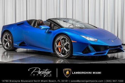 2020 Lamborghini Huracan Evo Spyder  North Miami Beach FL
