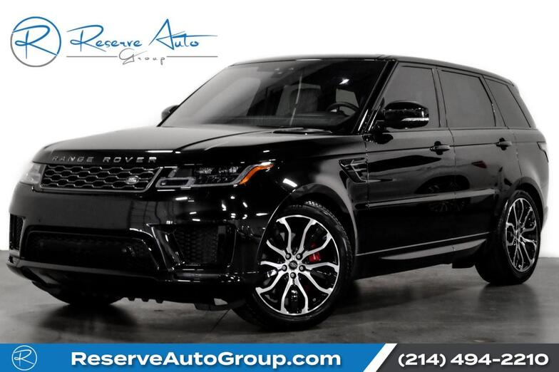 2020 Land Rover Range Rover Sport HSE Dynamic DrivePro Pak Meridian Sound 21Alloys The Colony TX