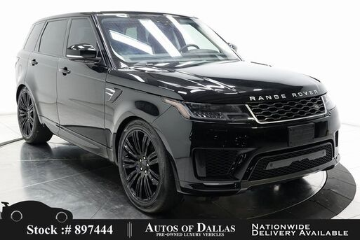 2020_Land Rover_Range Rover Sport_HSE NAV,CAM,PANO,HTD STS,BLIND SPOT,22IN WHLS_ Plano TX