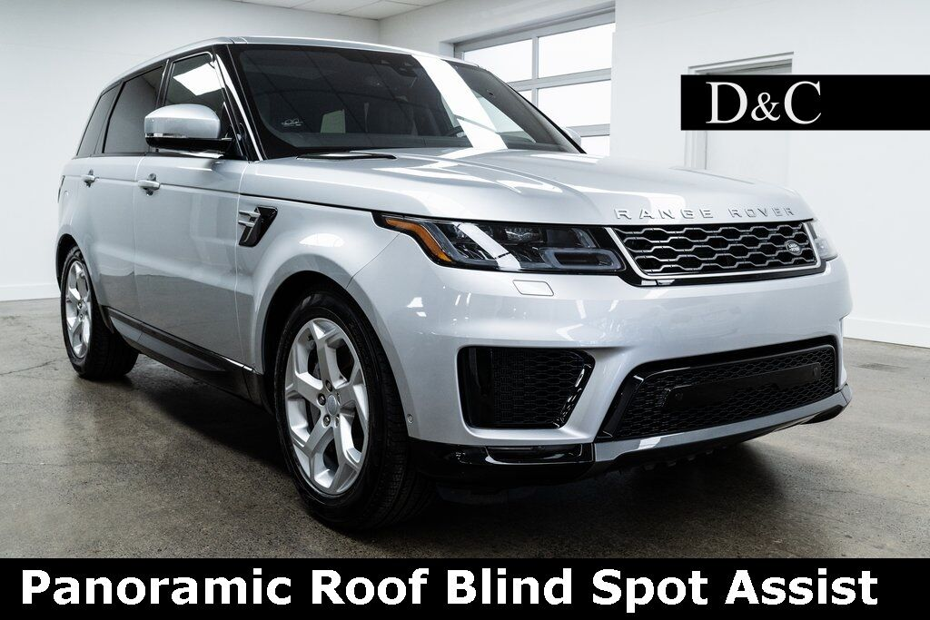 2020 Land Rover Range Rover Sport HSE Panoramic Roof Blind Spot Assist Portland OR