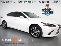 2020_Lexus_ES 350_*NAVIGATION, BLIND SPOT & LANE DEPARTURE ALERT, COLLISION ALERT w/BRAKING, ADAPTIVE CRUISE, BACKUP-CAMERA, MOONROOF, CLIMATE SEATS, 18 INCH WHEELS, APPLE CARPLAY_ Round Rock TX