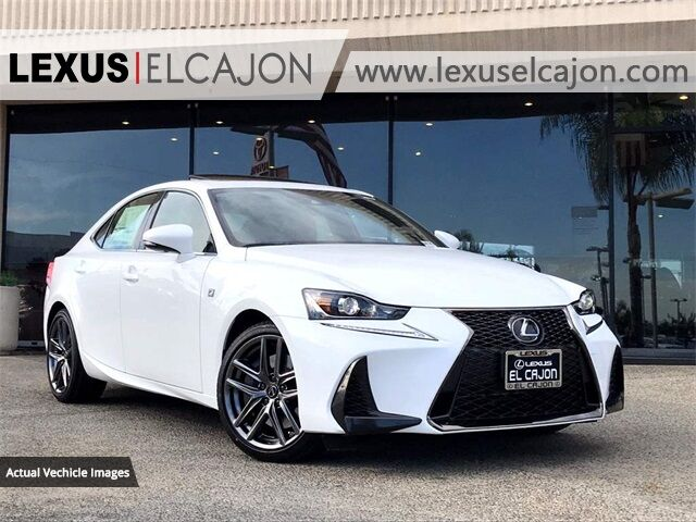 2020 Lexus IS 350 San Diego County CA