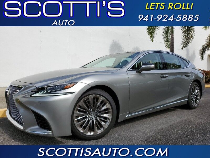 2020 Lexus LS LS 500~ONLY 1K MILES~ MINT CONDITION~ CLEAN HISTORY~ LOADED~ ONLINE FINANCE AND SHIPPING AVAILABLE~ Sarasota FL