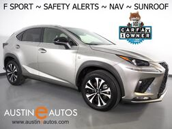 2020_Lexus_NX 300 F SPORT_*NAVIGATION, COLLISION ALERT, BLIND SPOT & LANE DEPARTURE ALERT, ADAPTIVE CRUISE, BACKUP-CAMERA, MOONROOF, CLIMATE SEATS, POWER LIFTGATE, BLUETOOTH, APPLE CARPLAY_ Round Rock TX