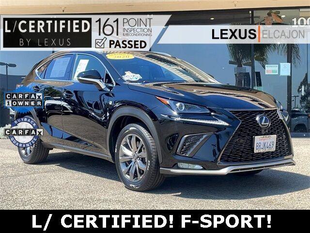 2020 Lexus NX 300 F Sport San Diego County CA