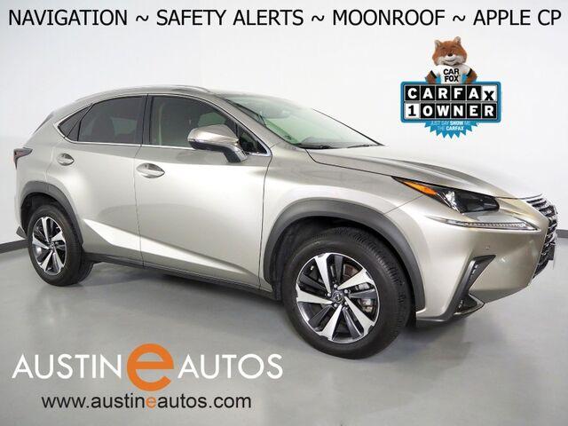 2020 Lexus NX 300 *NAVIGATION, COLLISION ALERT, BLIND SPOT & LANE DEPARTURE ALERT, ADAPTIVE CRUISE, 360 CAMERAS, MOONROOF, CLIMATE SEATS, POWER LIFTGATE, APPLE CARPLAY Round Rock TX