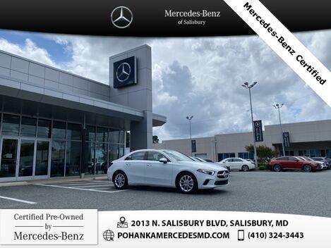 2020_Mercedes-Benz_A-Class_A 220 4MATIC®* ** Mercedes-Benz Certified  **_ Salisbury MD
