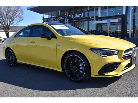 2020_Mercedes-Benz_AMG® CLA 35 Coupe__ Medford OR