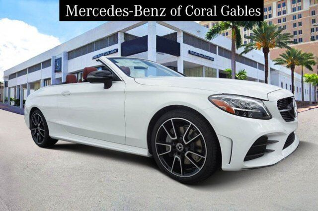 New 2020 Mercedes Benz C 300 Cabriolet In Coral Gables Fl