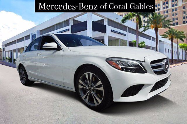 2020 Mercedes-Benz C 300 Sedan LR580361 Coral Gables FL