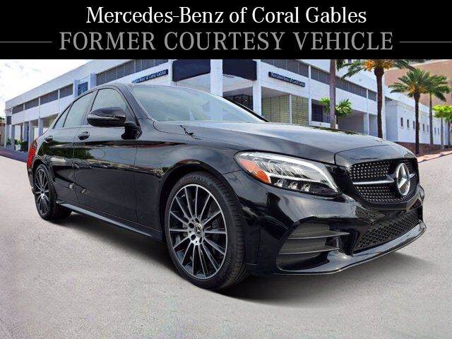 2020 Mercedes-Benz C 300 Sedan # YL120123 Coral Gables FL