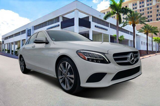 2020 Mercedes-Benz C 300 Sedan YL571 Coral Gables FL