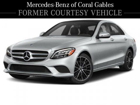 2020 Mercedes-Benz C 300 Sedan # YL7109 Coral Gables FL