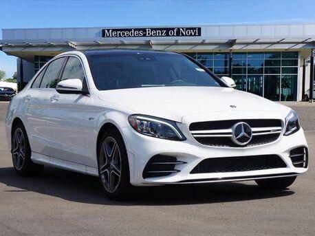 2020_Mercedes-Benz_C_AMG® 43 Sedan_  Novi MI