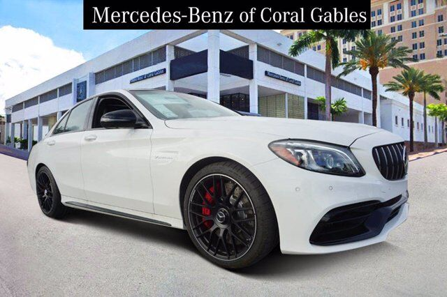 2020 Mercedes-Benz C AMG® 63 S Sedan Coral Gables FL