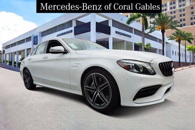2020 Mercedes-Benz C AMG® 63 Sedan Coral Gables FL