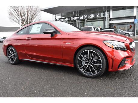 2020_Mercedes-Benz_C-Class_AMG® 43 Coupe_ Medford OR