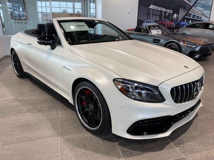 2020 Mercedes-Benz C-Class AMG® 63 S Cabriolet Indianapolis IN