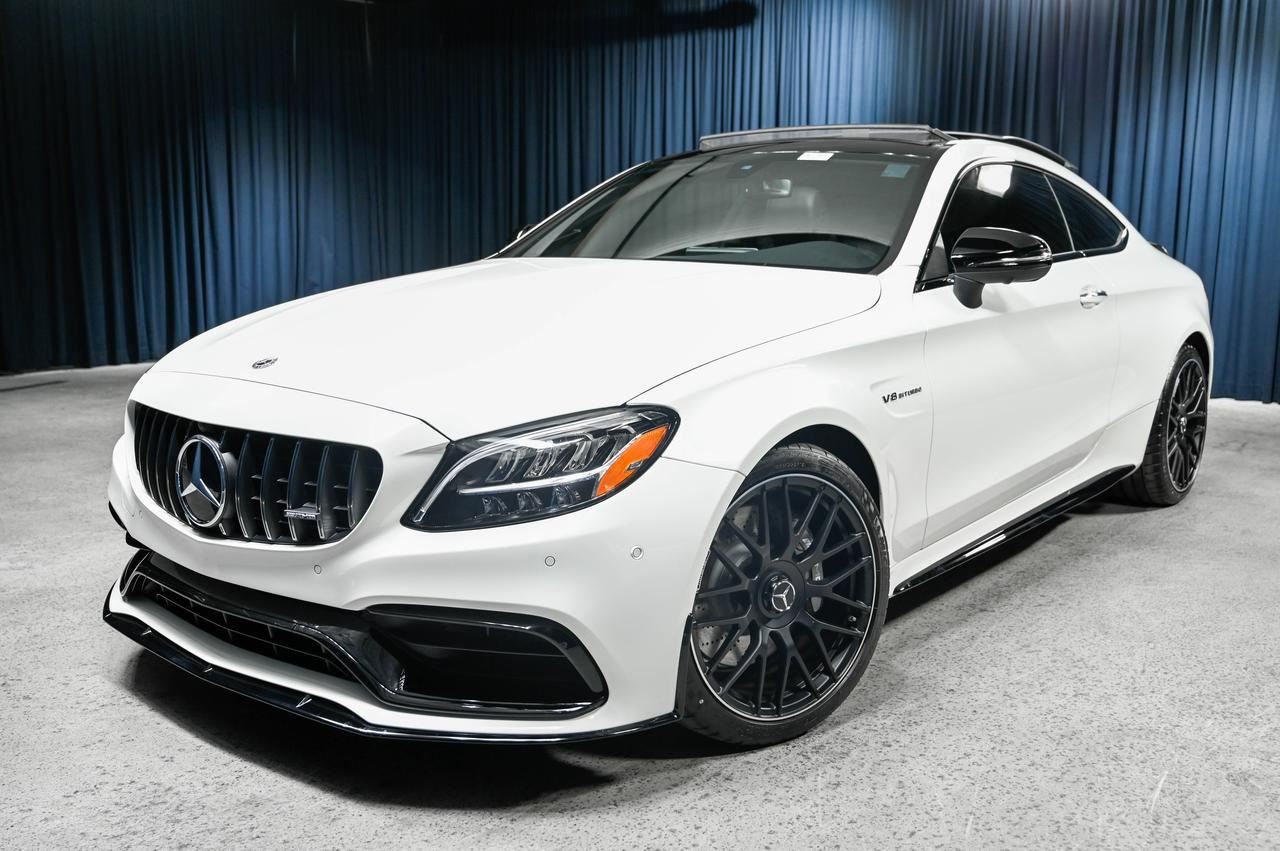 New 2020 Mercedes-Benz C-Class AMG® C 63 Coupe in ...