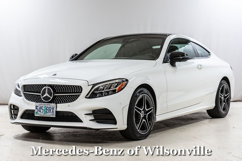 2020 Mercedes-Benz C-Class C 300 4MATIC® Coupe Wilsonville OR