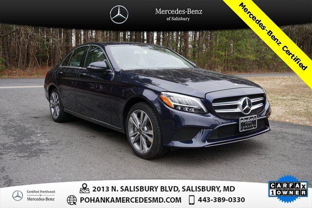 2020 Mercedes-Benz C-Class C 300 4MATIC®** Mercedes-Benz Certified Pre-Owned Salisbury MD