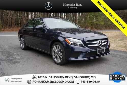 2020_Mercedes-Benz_C-Class_C 300 4MATIC®** Mercedes-Benz Certified Pre-Owned_ Salisbury MD