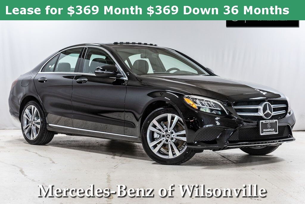 2020 Mercedes-Benz C-Class C 300 4MATIC® Sedan Wilsonville OR