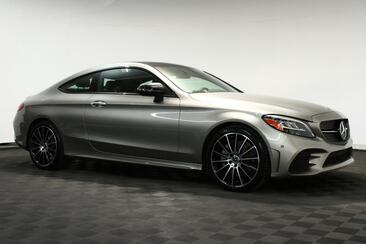 2020_Mercedes-Benz_C-Class_C 300 Coupe Amg Sport Night Pack Distronic 360 Cam Digital Cluster_ Houston TX