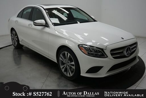 2020_Mercedes-Benz_C-Class_C 300 NAV,CAM,SUNROF,HTD STS,BLIND SPOT,LED LIGHTS_ Plano TX
