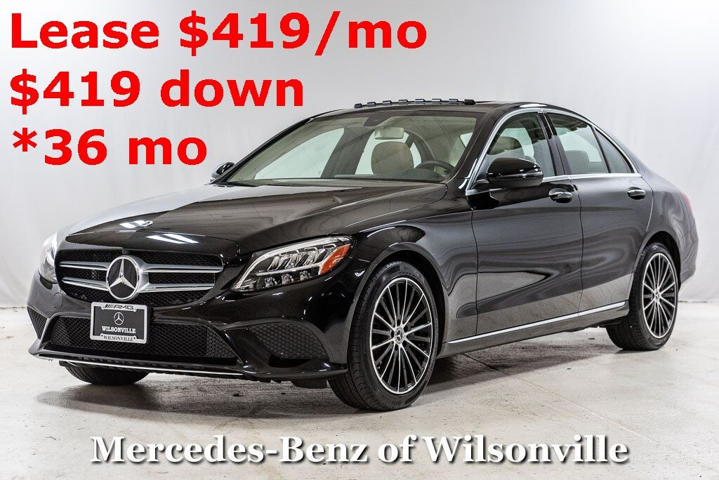 2020 Mercedes-Benz C-Class C 300 Sedan Wilsonville OR