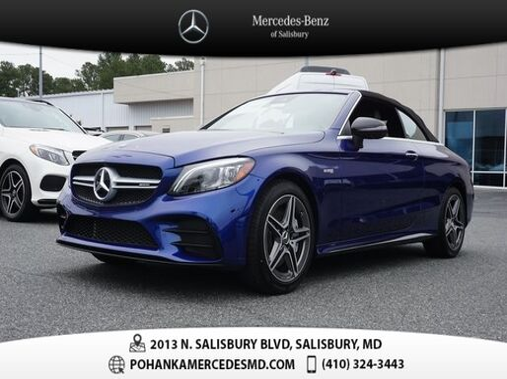 2020_Mercedes-Benz_C-Class_C 43 AMG® 4MATIC®_ Salisbury MD