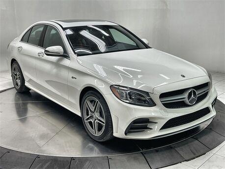 2020_Mercedes-Benz_C-Class_C 43 AMG® NAV,CAM,SUNROF,HTD STS,BLIND SPOT,LED_ Plano TX