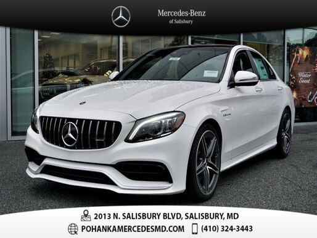 2020_Mercedes-Benz_C-Class_C 63 AMG_ Salisbury MD