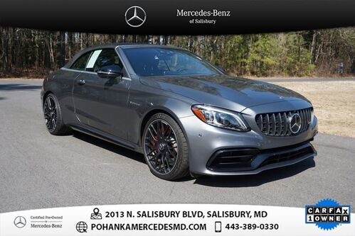 2020_Mercedes-Benz_C-Class_C 63 S AMG® ** Mercedes-Benz Certified **_ Salisbury MD