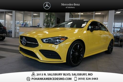 2020_Mercedes-Benz_CLA_250 4MATIC_ Salisbury MD
