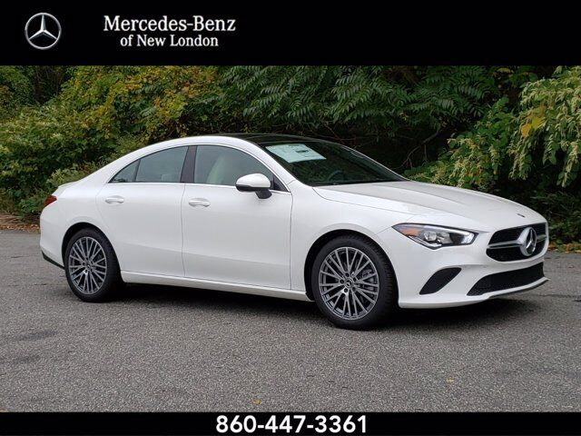 2020 Mercedes-Benz CLA 250 4MATIC® COUPE New London CT