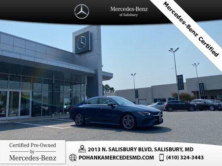 2020_Mercedes-Benz_CLA_CLA 250 4MATIC®** Mercedes-Benz Certified **_ Salisbury MD
